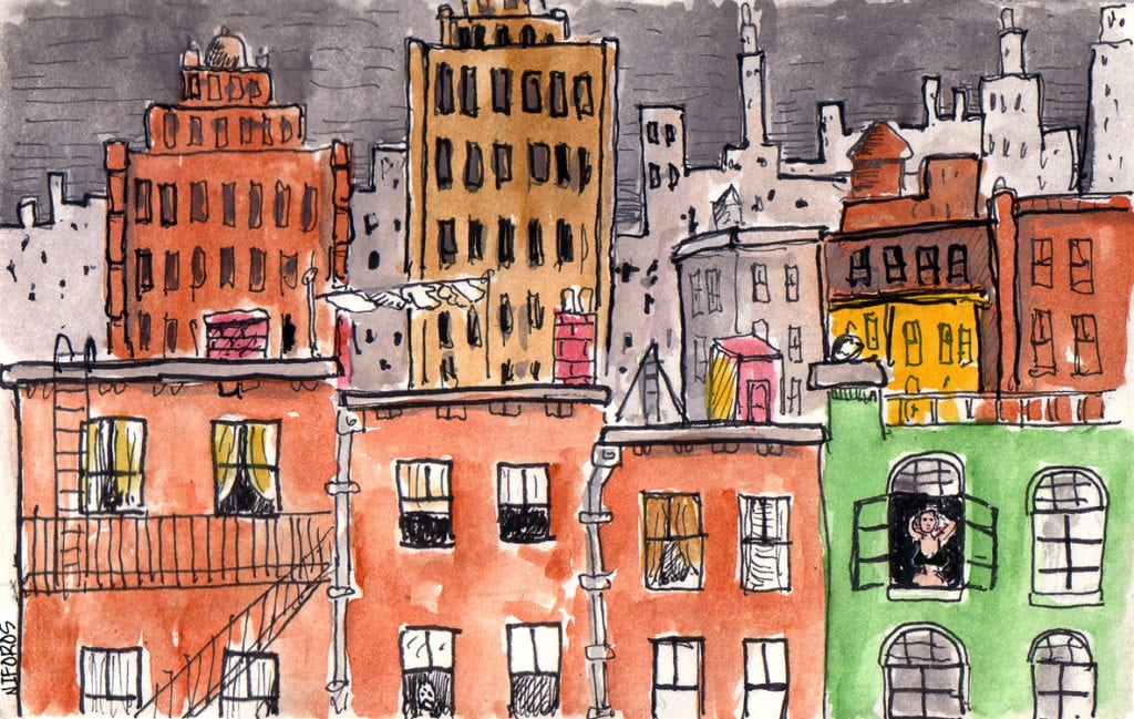 City by Steve Niforos