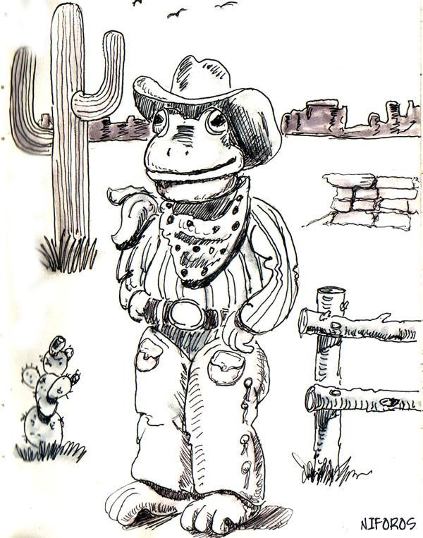 buck-a-roo froggy