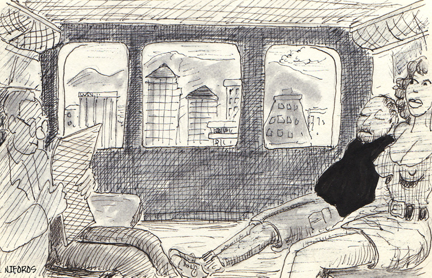 On the Train—Nifette #27
