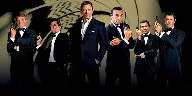 Ranking the Actors that Played James Bond