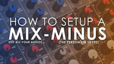 Setting Up A Mix-Minus to Record Skype For Your Podcast