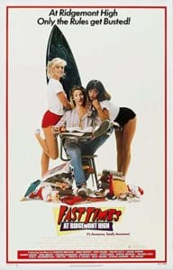 Fast Times at Ridgemont High (1982) Movie Poster