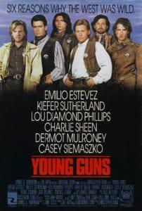 Young Guns (1988) Onesheet