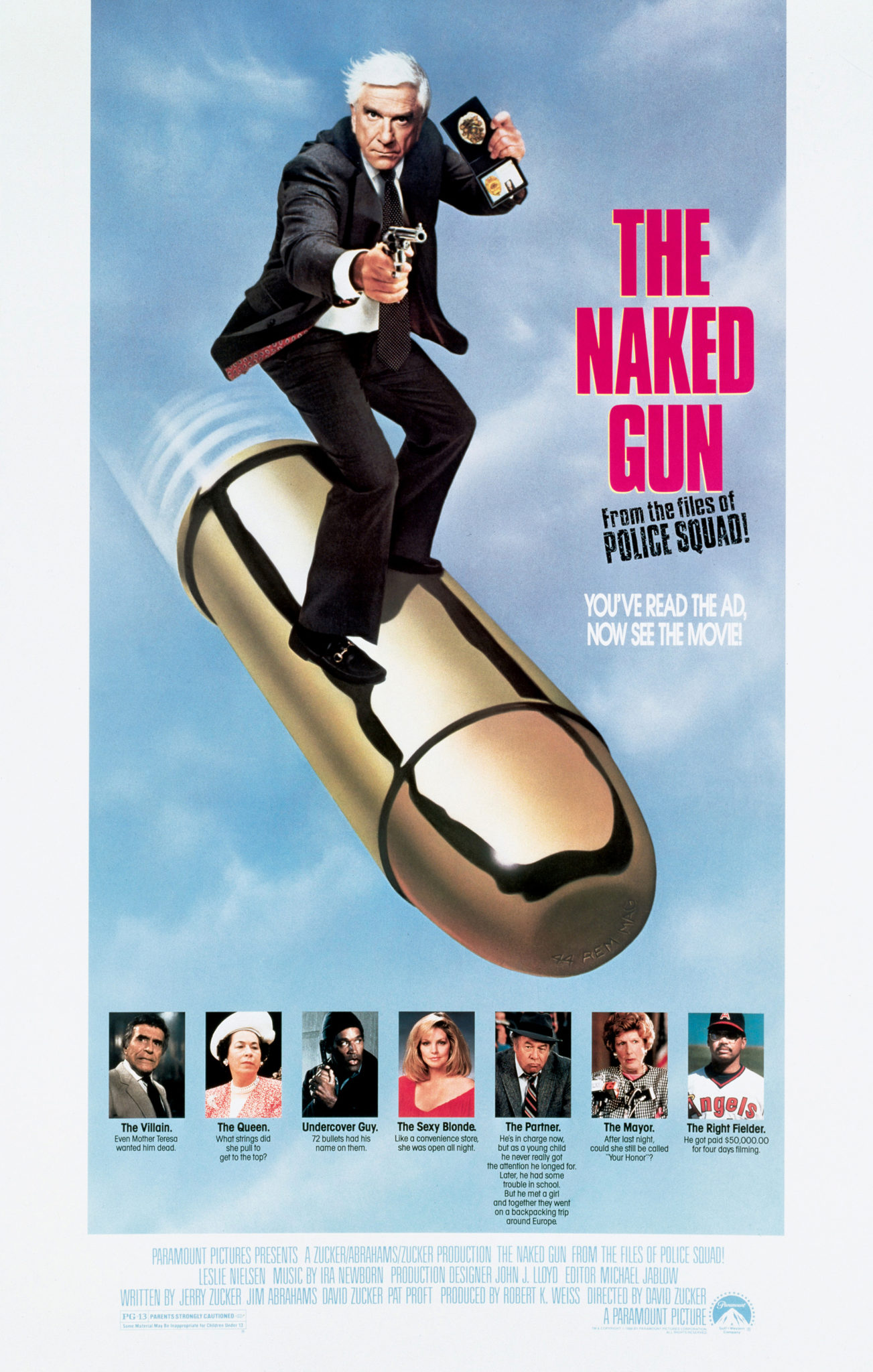 The Naked Gun: Nordberg Goes Down (And Backwards Too