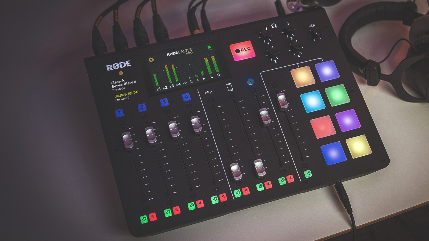 RODECaster Pro Podcast Production Studio